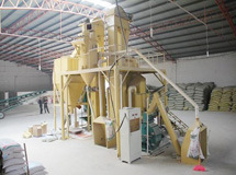时产8吨粉料机组