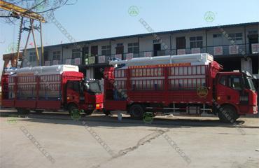 20吨必威体育app官方下载必威体育精装版运输车(西藏客户)