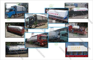 2016年必威体育app官方下载必威体育精装版运输车发货现场二